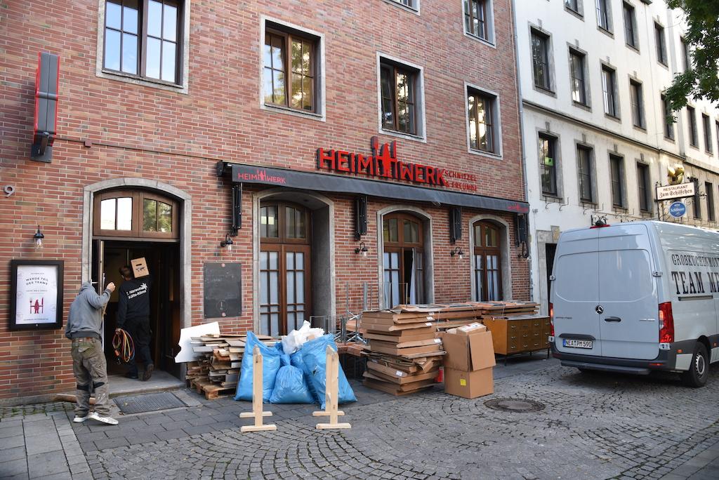 Restaurant Heimwerk in der Hafenstraße Foto: LOKALBÜRO