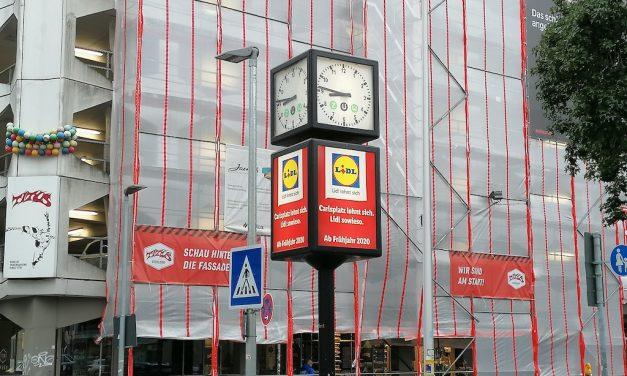 Lidl am Carlsplatz eröffnet im Frühjahr 2020