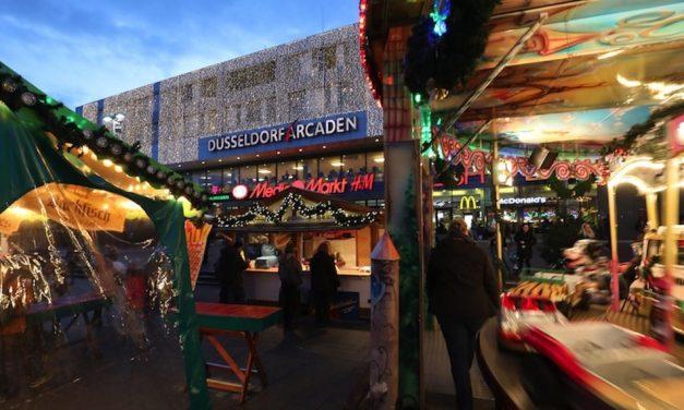 Zauberhafte Stimmung in den Düsseldorf Arcaden
