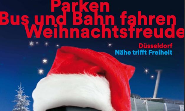 Park-and-Ride-Angebot für Weihnachtseinkäufe