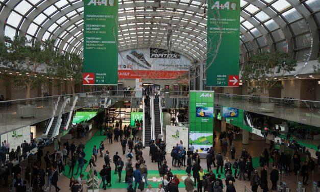 In Düsseldorf begann heute die A+A 2019 – die Weltleitmesse für sicheres und gesundes Arbeiten