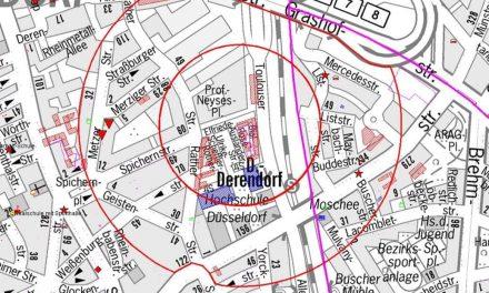 Bombenfund in Düsseldorf-Derendorf: 900 Menschen müssen ihre Wohnung verlassen