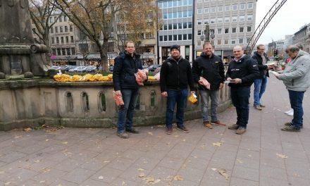 Bauern Demo in NRW