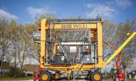 """Schiffskran """"Big Willi"""" wird 40"""