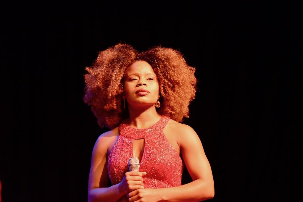 Kristina Love, Hauptdarstellerin Tina, Foto: LOKALBÜRO