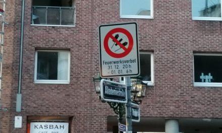 Böllerverbot in der Altstadt