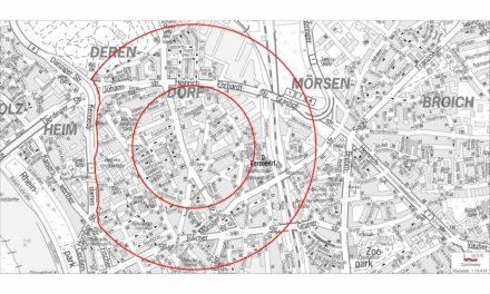 Bombenfund in Derendorf: Entschärfung einer englischen 10-Zentner Bombe für heute Abend geplant