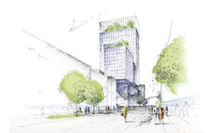 Neues Technisches Rathaus wird an der Moskauer Straße in Oberbilk gebaut