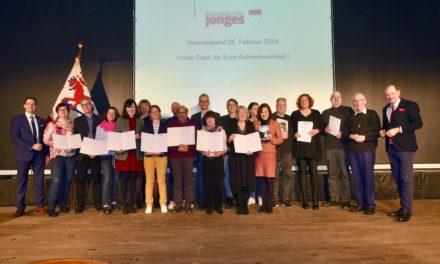 Jonges spenden 25.000 Euro für Düsseldorfer soziale Projekte