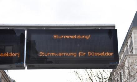 Deutscher Wetterdienst  gibt eine bundesweite Sturmwarnung für Montag heraus