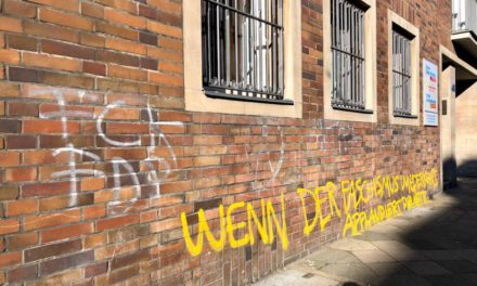 FDP Zentrale mit Graffiti beschmiert