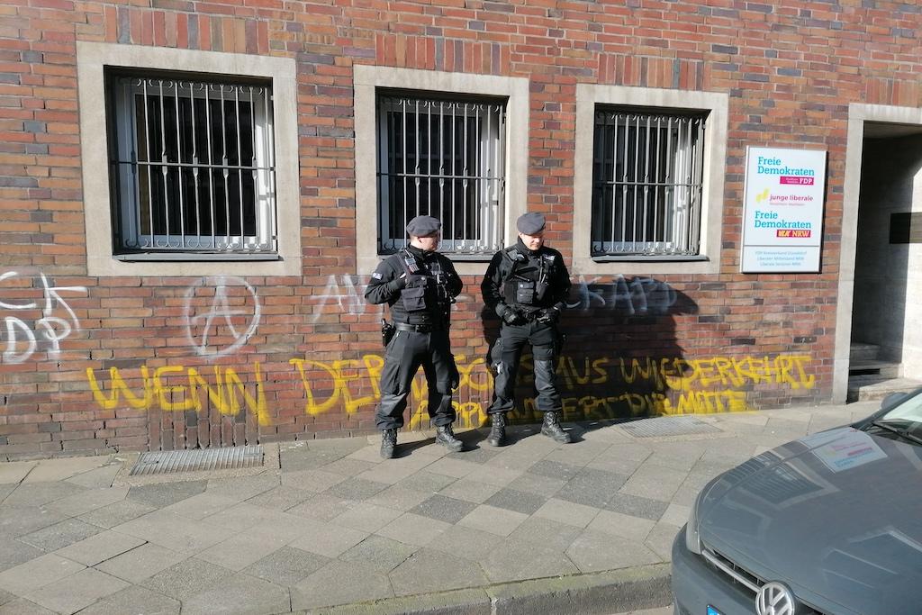 FDP Zentrale in der Sternstraße Foto: LOKALBÜRO