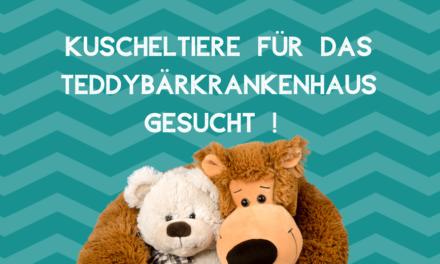 Für das Teddybärkrankenhaus Düsseldorf werden Kuscheltiere gesucht