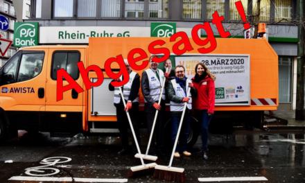 Veranstalter Pro Düsseldorf sagt den Dreck-weg-Tag 2020 ab