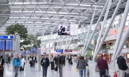 Flughafen Düsseldorf erhält Flugbetrieb aufrecht, passt die Infrastruktur jedoch der Nachfrage an