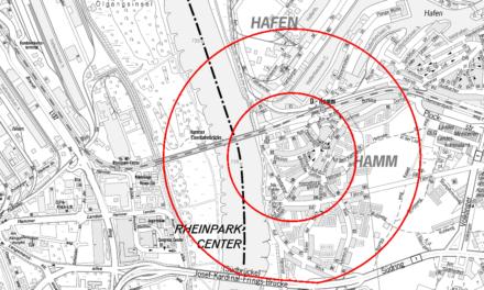 Bombenfund in Düsseldorf-Hamm: 2.300 Menschen müssen ihre Wohnung verlassen