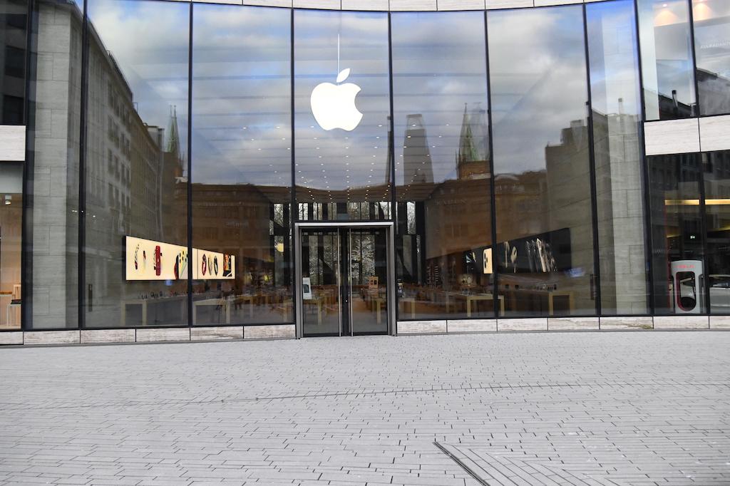 Apple Store in Düsseldorf Foto: LOKALBÜRO