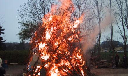 Traditionelle Osterfeuer dürfen nicht stattfinden