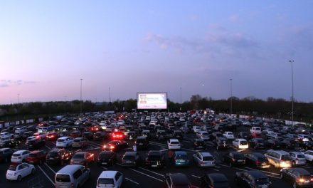 Großes Kino auf dem Messeparkplatz
