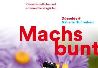 """""""Mach's bunt"""": Städtische Kampagne für die Begrünung von Vorgärten"""