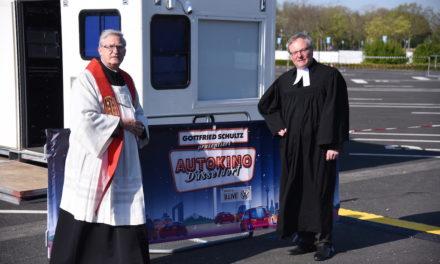Ökumenischer Gottesdienst im Autokino
