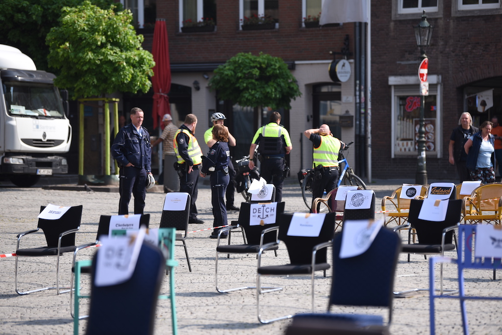 Demo der Wirte in Düsseldorf Foto: LOKALBÜRO