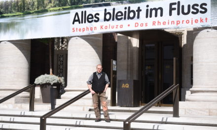 """""""Alles bleibt im Fluss"""" — der Rhein als Symbol der Hoffnung"""