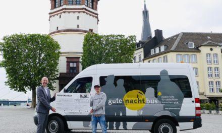 """3.000 Euro Spende an den """"gutenachtbus"""""""