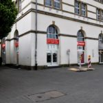 Wiedereröffnung des Fanshops am Burgplatz