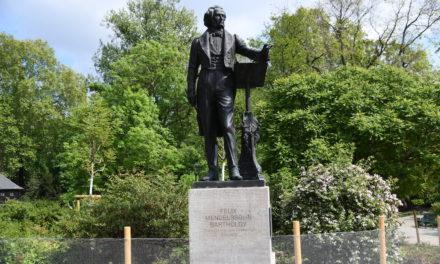 Mendelssohn-Bartholdy-Denkmal wird vorübergehend demontiert