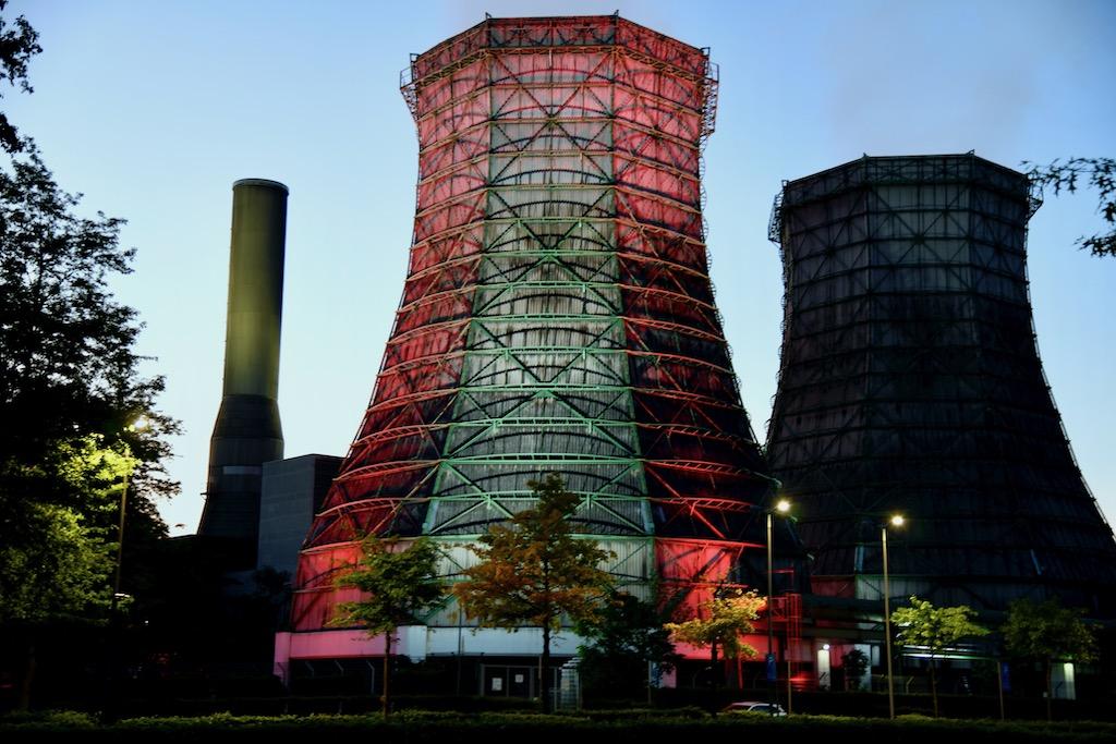 Kühlturm bei den Stadtwerken in Flingern Foto: LOKALBÜRO