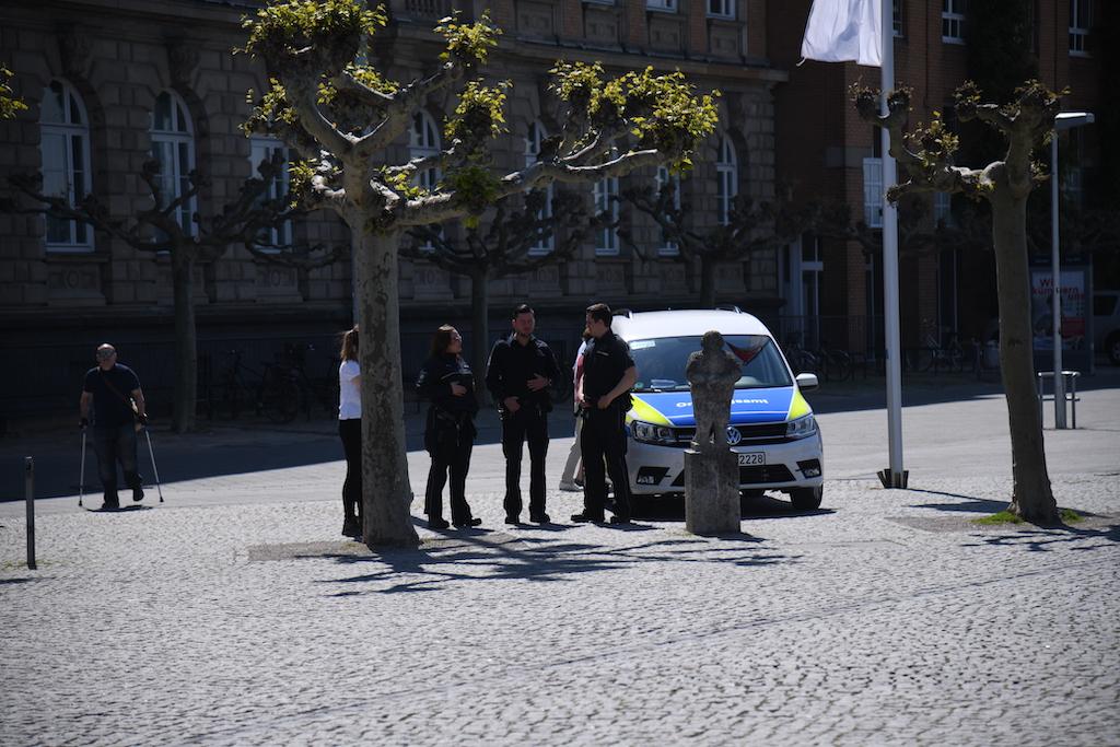 Eintreffen des Ordnungsamt Foto: LOKALBÜRO