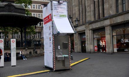 Waschstation am Carschhaus und am Hauptbahnhof