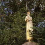 Denkmal Pallas Athene wird restauriert