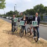 GRÜNE für Radschnellweg Toulouser Allee