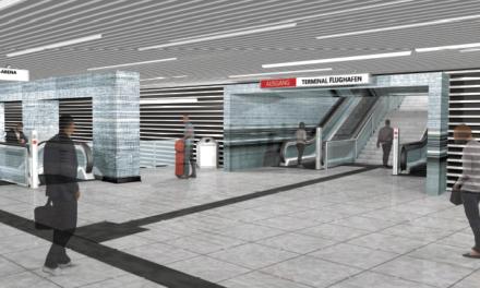 """Bahnhof """"Flughafen Terminal"""": Entwürfe für Kunst am Bau im Stadtmuseum zusehen"""