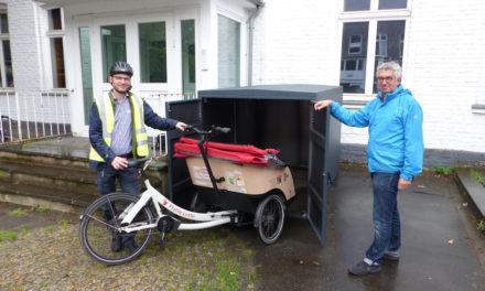 """""""Flotte Lotte"""": Erste Düsseldorfer Quartiers-Rikscha für mobilitätseingeschränkte Menschen"""