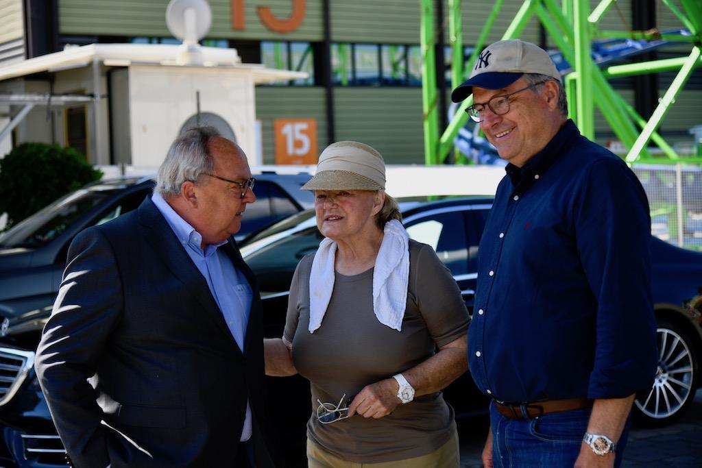 Werner M. Dornscheidt, Inge Bruch und Oskar Bruch jun.