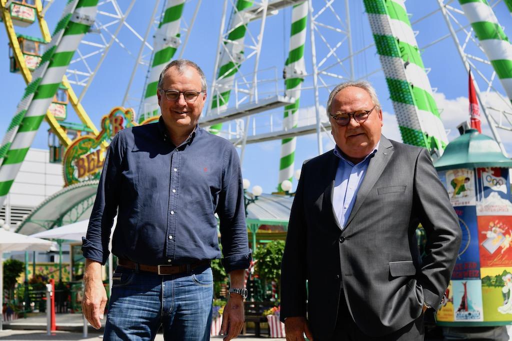 Oskar Bruch jun. und Werner M. Dornscheidt