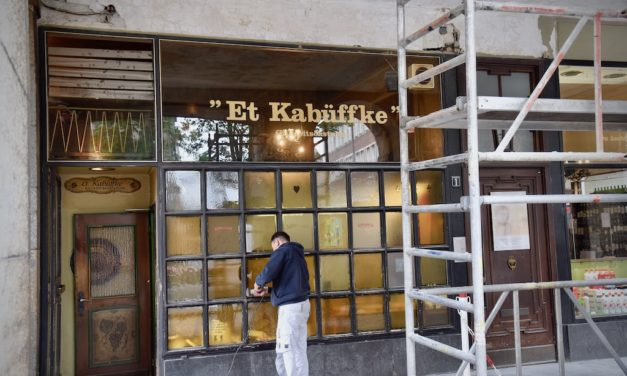 """Et Kabüffke"" wird renoviert"