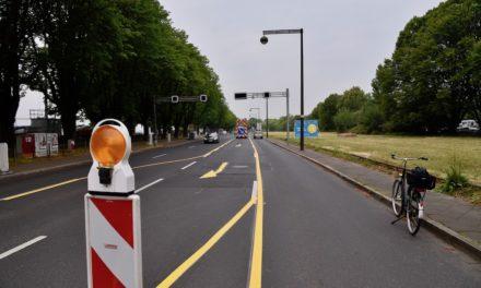 Erster Pop-up-Radweg für Düsseldorf