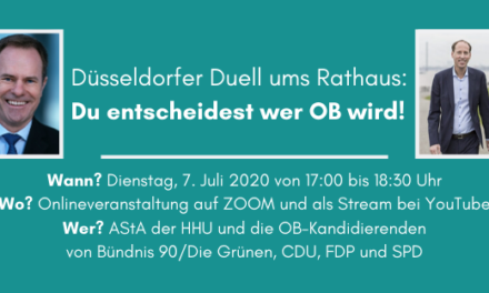 Düsseldorfer Duell ums Rathaus