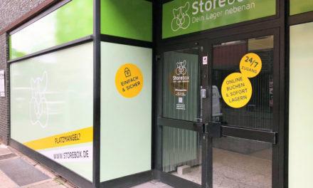 Storebox expandiert und eröffnet den 3ten Standort in Düsseldorf