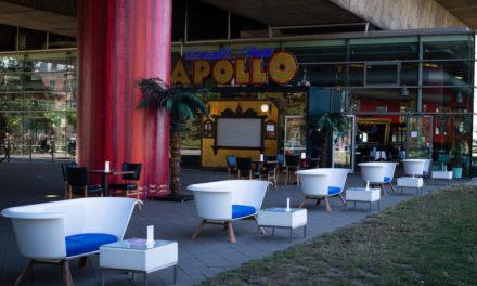Neuer Außenbereich für Apollo-Restaurant