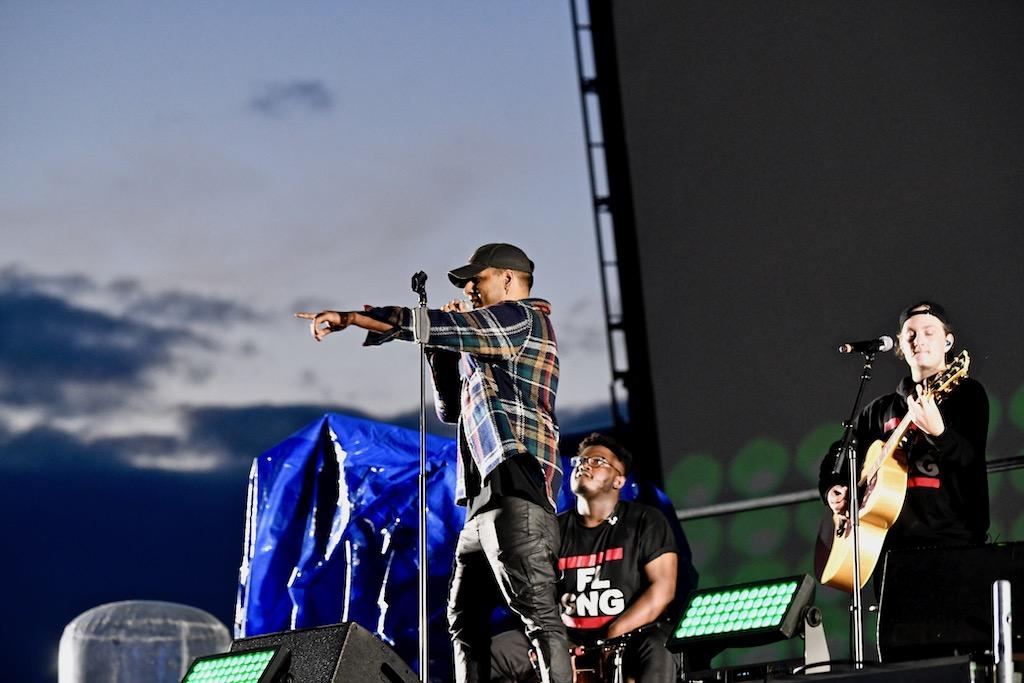 Vorband Orry Jackson und Musiker Foto: LOKALBÜRO