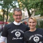 Neues Altstadt Shirt vorgestellt