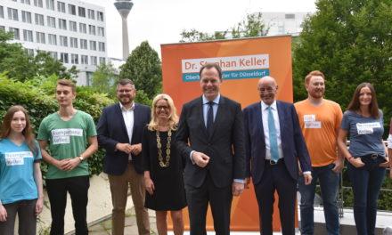 Stephan Keller's wichtigste Vorhaben für Düsseldorf