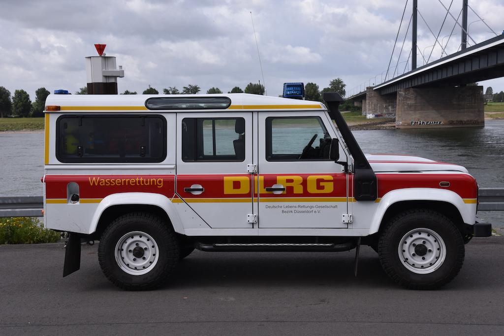 DLRG Einsatzfahrzeug Foto: LOKALBÜRO