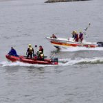 Feuerwehr warnt: Der Rhein ist lebensgefährlich!