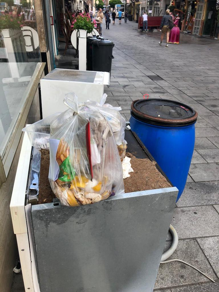 Wilde Müllkippe wie hier in der Altstadt Foto:LOKALBÜRO